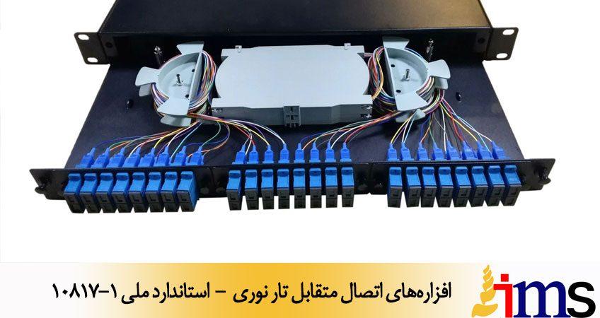 افزارههای اتصال متقابل تار نوری - استاندارد ملی 10817-1