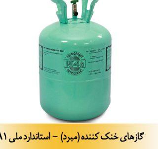 گازهای خنک کننده (مبرد) - استاندارد ملی 10050-A1