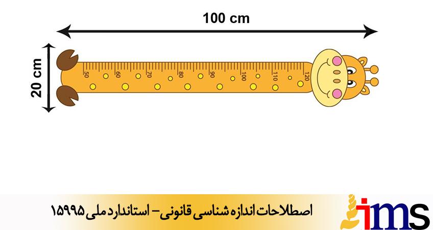 اصطلاحات اندازه شناسی قانونی- استاندارد ملی 15995